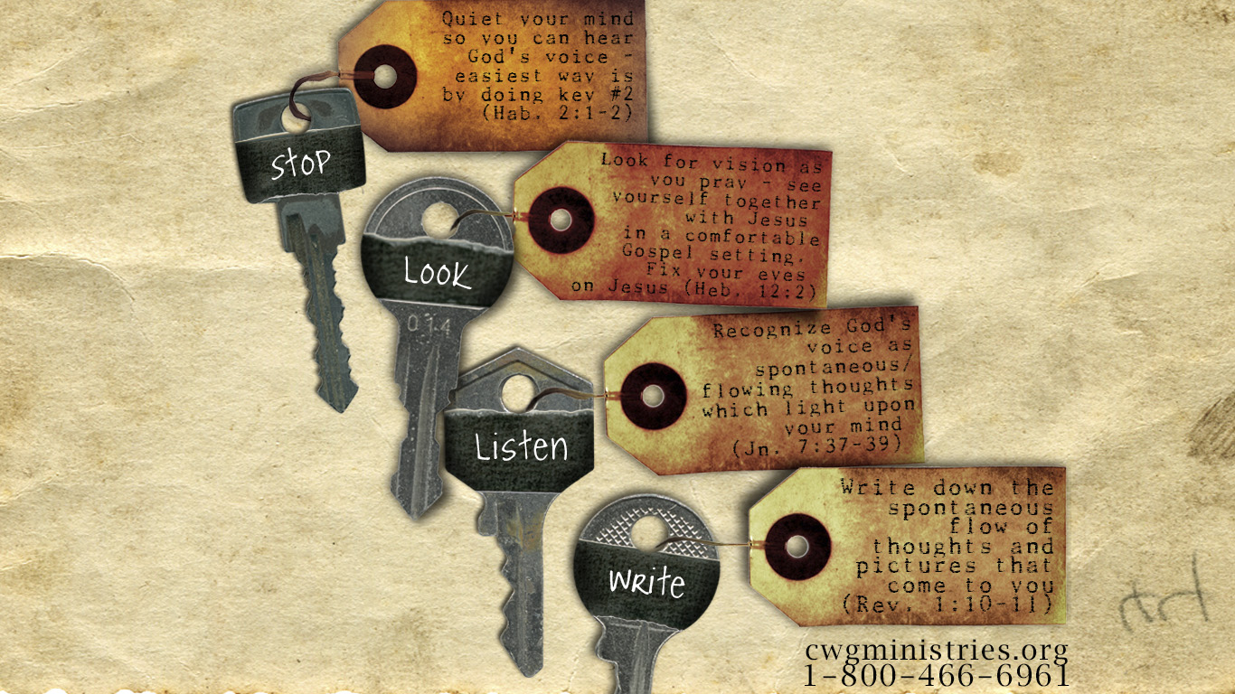 4 keys to hearing god you can hear gods voice click here to get free four keys downloadable wallpaper solutioingenieria Images