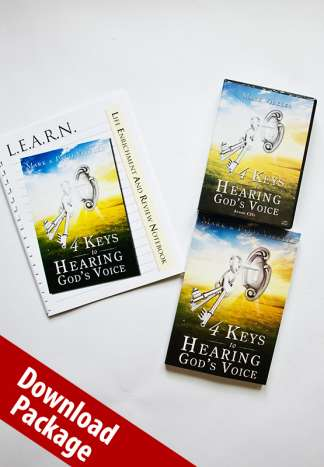 4 Keys to Hearing God's Voice MP3 Audio Package