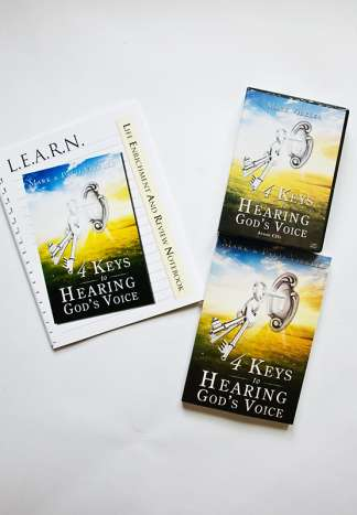 4 Keys to Hearing God's Voice Audio CD Package