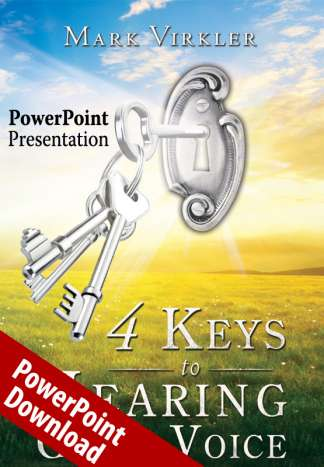 4 Keys to Hearing God's Voice PowerPoint Download