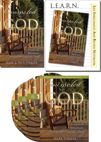 Counseled by God Audio CD Package