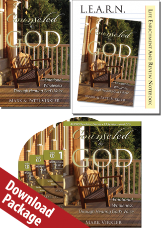 Counseled by God MP3 Audio Download Package
