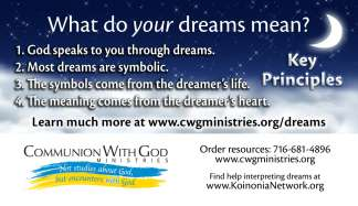 Hear God Through Your Dreams Cards (100-pack)