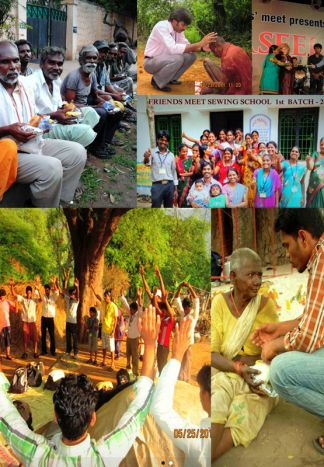 Friends' Meet Ministry Monthly Donation for India