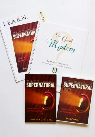 Naturally Supernatural DVD Package