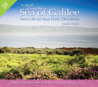 A Stroll Along the Sea of Galilee Gift Card - 25 Pack