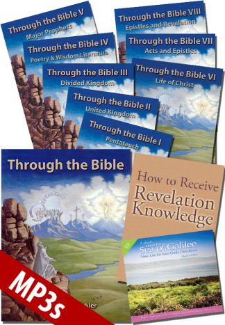 Through the Bible MP3 Discounted Package