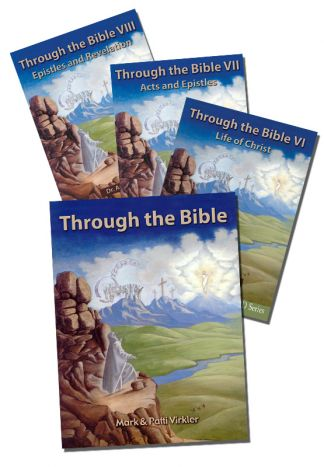 Through the Bible New Testament CD Package