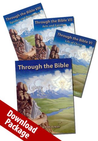 Through the Bible New Testament Video Download Package