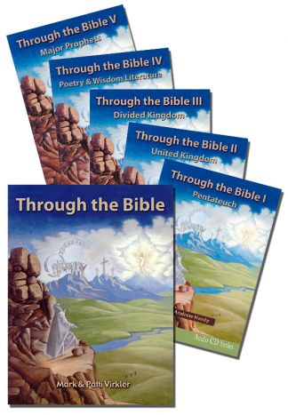 Through the Bible Old Testament CD Package