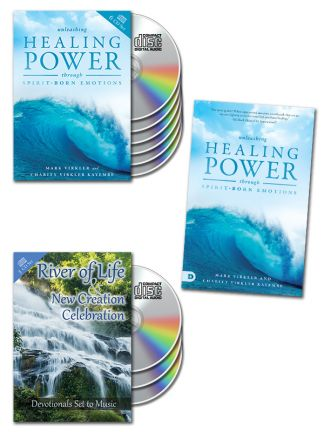 Unleashing Healing Power Through Spirit-Born Emotions CD Package