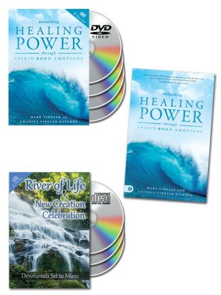 Unleashing Healing Power Through Spirit-Born Emotions DVD Package