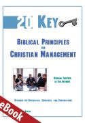Twenty Key Biblical Principles for Management eBook