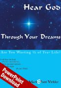 Hear God Through Your Dreams PowerPoint Download