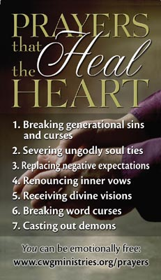 Free Resources - Prayers That Heal the Heart | Communion