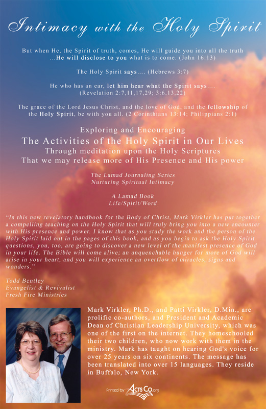 Intimacy with the holy spirit ebook back cover fandeluxe Choice Image