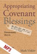 Appropriating Covenant Blessings MP3