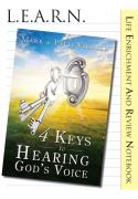 LEARN 4 Keys to Hearing God's Voice Notebook