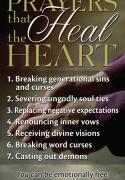 Prayers That Heal the Heart Cards